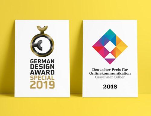 Wir holen den German Design Award und Silber beim DPOK